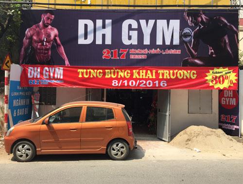 Lắp đặt phòng tập thể hình DH Gym tại Cầu Diễn - Tp Hà Nội