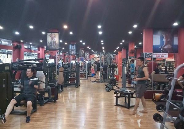 Phòng tập Gym World Fitness quận 11