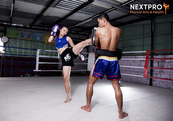 Phòng tập Kickboxing Next Pro quận 2