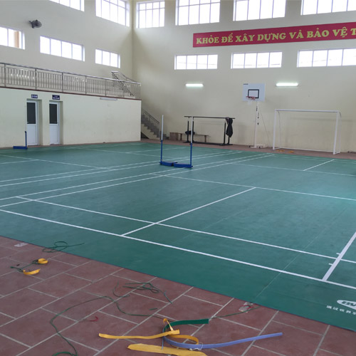 Sân cầu lông Hoài Đức - Hà Nội hoàn chỉnh