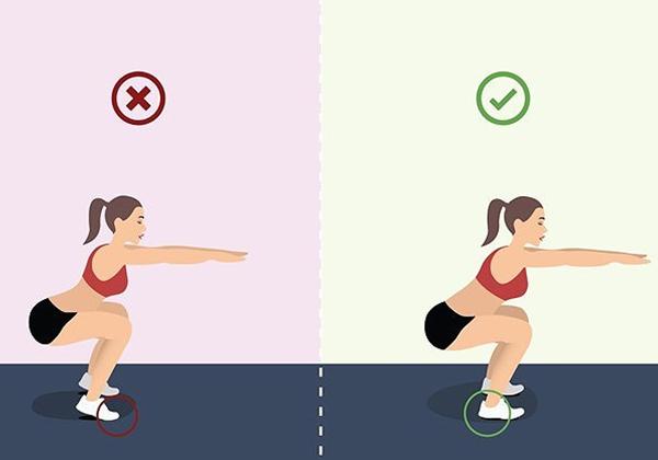 Squat giúp cải thiện tư thế