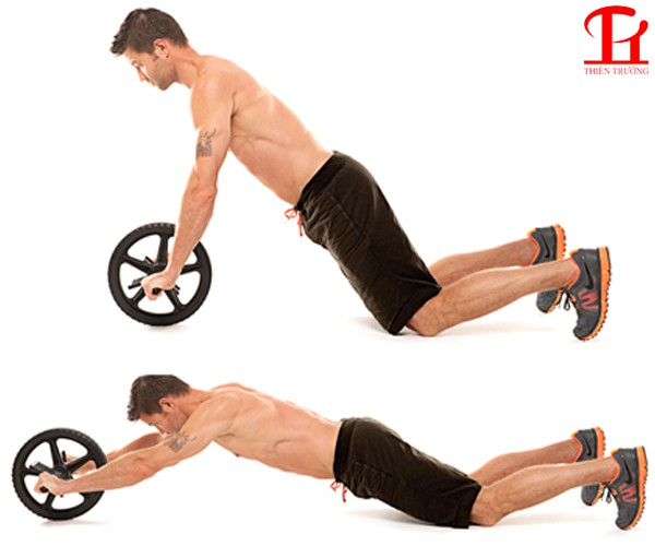 Sử dụng con lăn tập bụng AB Wheel