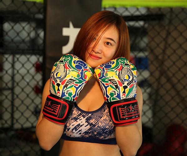 Sử dụng găng Boxing Kangrui KS325