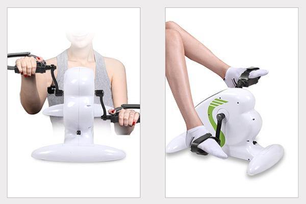 Sử dụng máy tập phục hồi chức năng Mini Bike