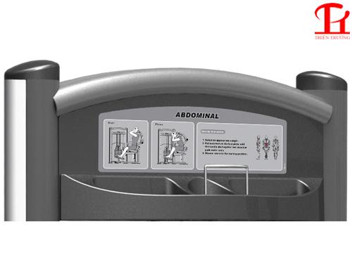 Sử dụng máy tập cơ bụng Impulse IT9314