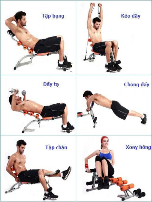 Hướng dẫn sử dụng máy tập cơ bụng hiệu quả cho người Mới !