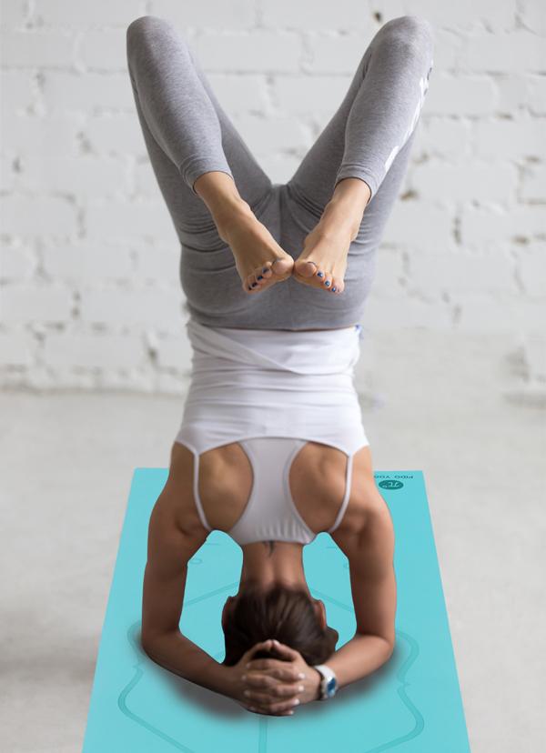 Sử dụng thảm tập Yoga Pido định tuyến