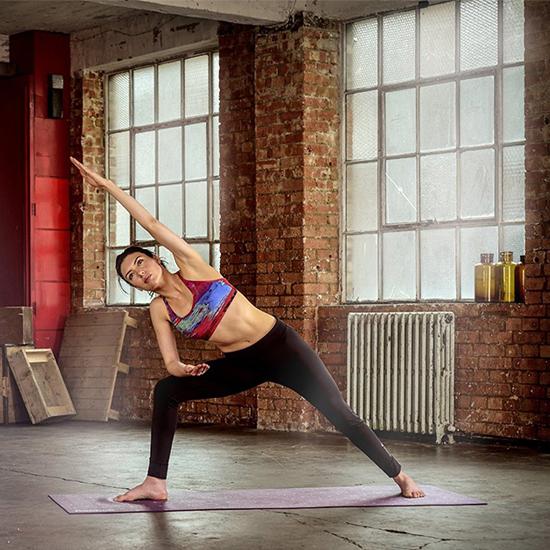 Sử dụng thảm tập Yoga Reebok RAYG-11040PL