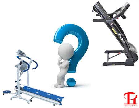 Các thắc mắc khi mua máy chạy bộ cần phải giải đáp, hiểu rõ !