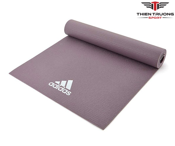 Thảm Yoga Adidas ADYG-10400VG màu xám nhạt và dày 4mm