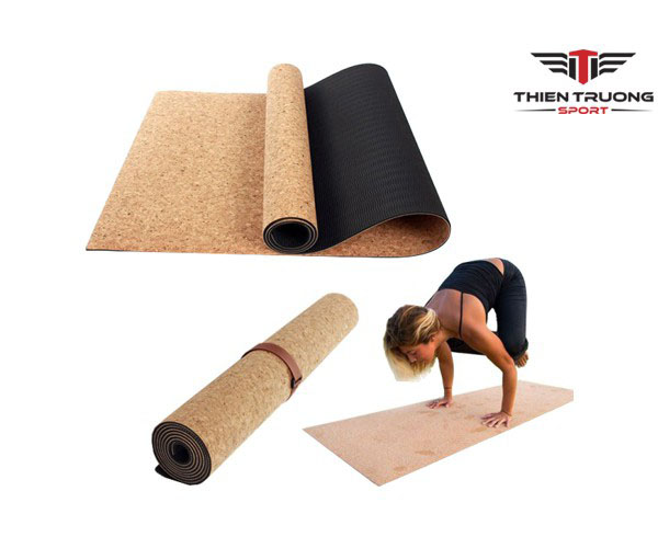Thảm tập Yoga Cork Yoga Mat 6 ly xịn và giá rẻ nhất Việt Nam
