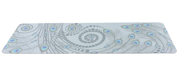 Thảm tập Yoga Pido 5D Hoa đuôi công 1