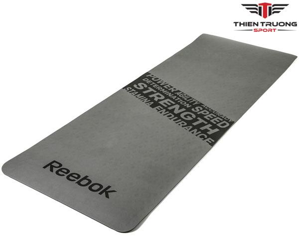 Thảm tập Yoga Reebok RAMT-11024GRS in hoa văn cực đẹp !