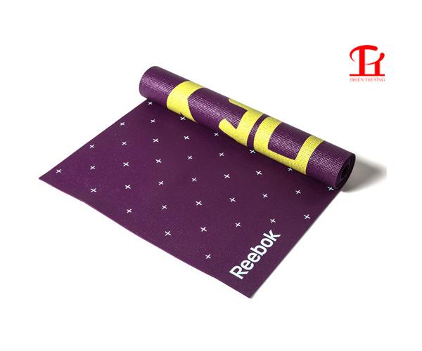 Thảm tập Yoga Reebok RAYG-11030HH in hoa văn đẹp mắt !