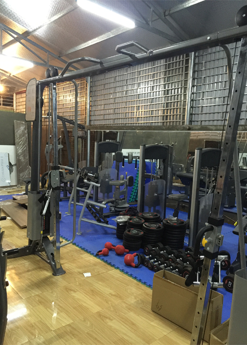 Thi công phòng tập Gym tại Yên Bái