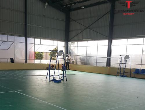 Thi công sân cầu lông tại Vĩnh Phúc