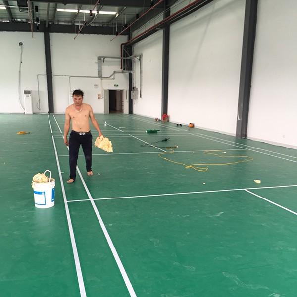 Thi công thảm thể thao cho Công ty JA Solar