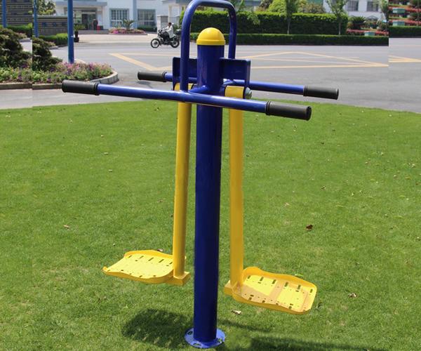 Thiết bị tập lưng eo đôi TT-513 dùng cho công viên giá rẻ Nhất