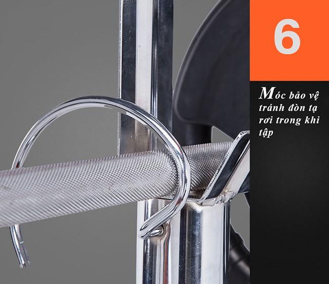Thiết kế ghế tập tạ GM 4380 6