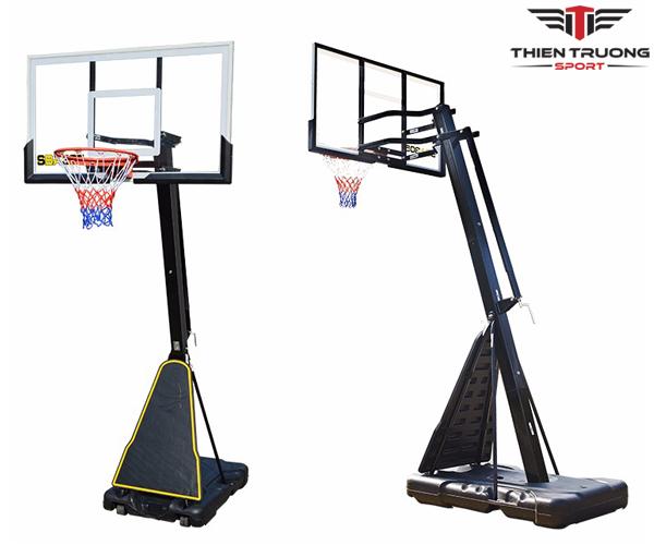 Trụ bóng rổ S027 sử dụng cho gia đình, trường học giá rẻ Nhất !