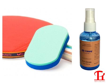 Hướng dẫn vệ sinh và bảo quản mặt vợt bóng bàn đúng cách !