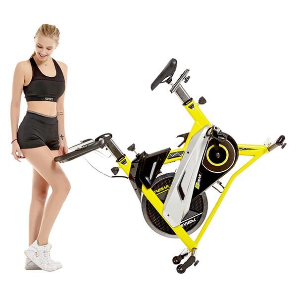 Xe đạp tập HQ-007 di chuyển dễ dàng