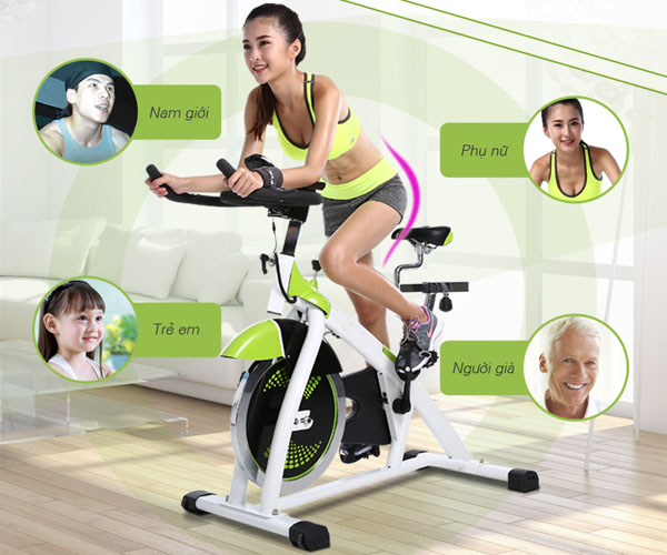 Xe đạp tập Spin Bike phù hợp với mọi đối tượng