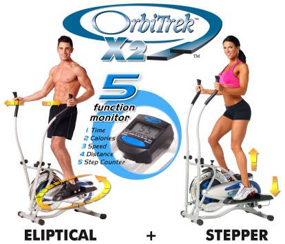 5 thiết kế mới của xe đạp tập Orbitrek X2