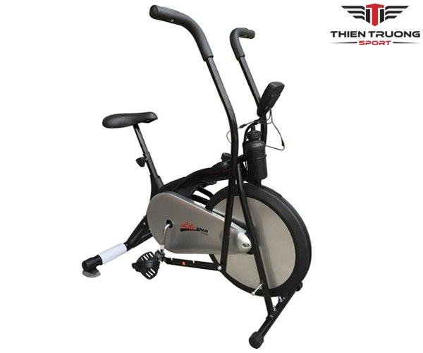 Xe đạp tập Life Span màu đen + bạc