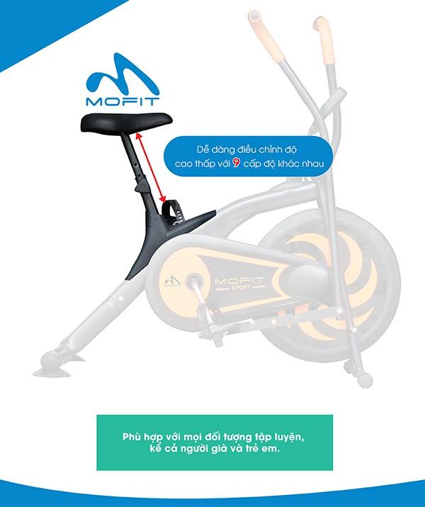 Yên xe đạp tập MO 2060