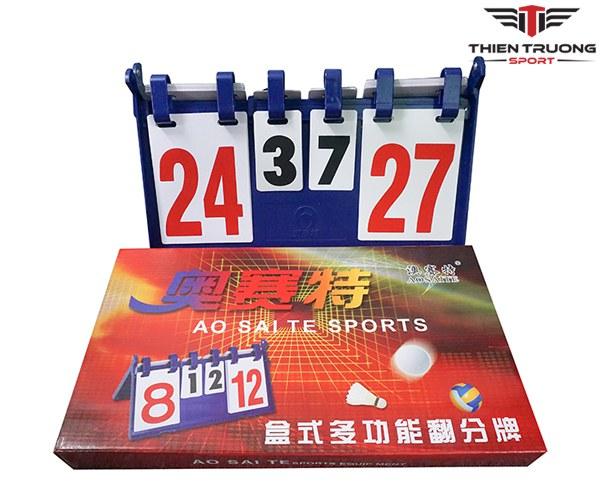 Bảng điểm lật tay Aosaite dùng để thi đấu thể thao giá rẻ Nhất