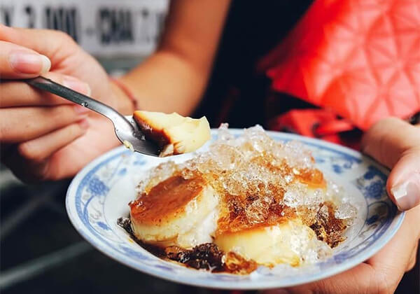 Ăn bánh flan có thể gây mập