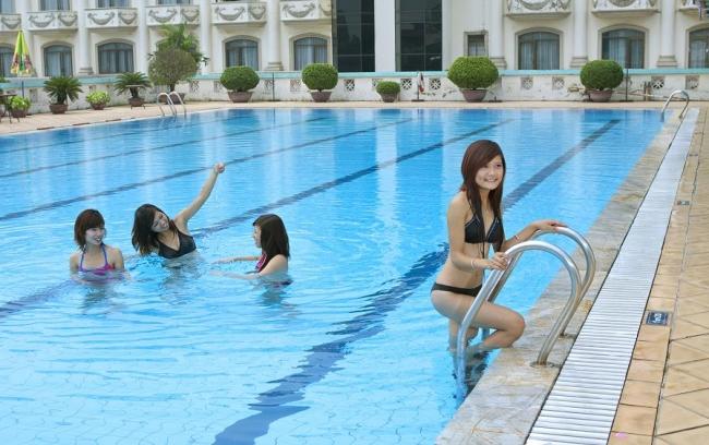 bể bơi asean
