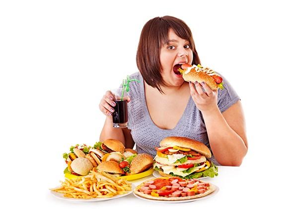 Bị béo do dư thừa calo