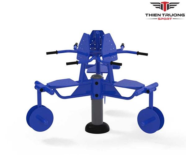 Bộ 3 ghế tập chân S80024 để lắp đặt cho công viên giá rẻ Nhất