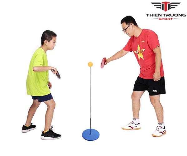 Bộ bóng bàn phản xạ lắc lư dùng để tập cho trẻ em giá rẻ Nhất