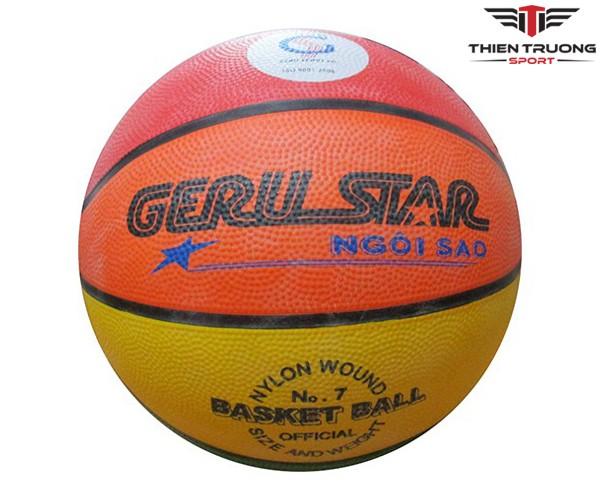 Bóng rổ Gerustar ngôi sao 8 màu giá rẻ tại Thiên Trường Sport