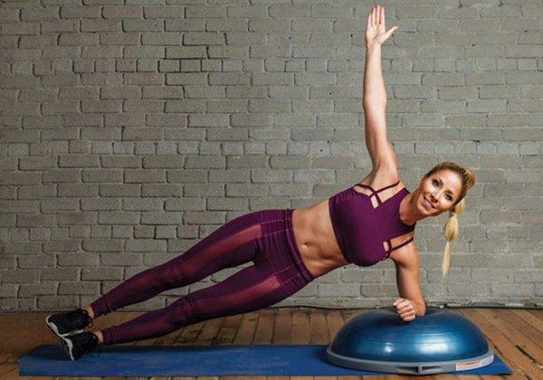 Bosu Ball Side Plank