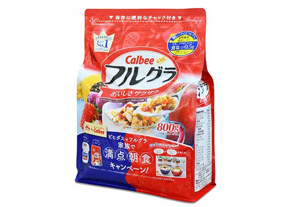 Bột ngũ cốc Calbee Nhật Bản