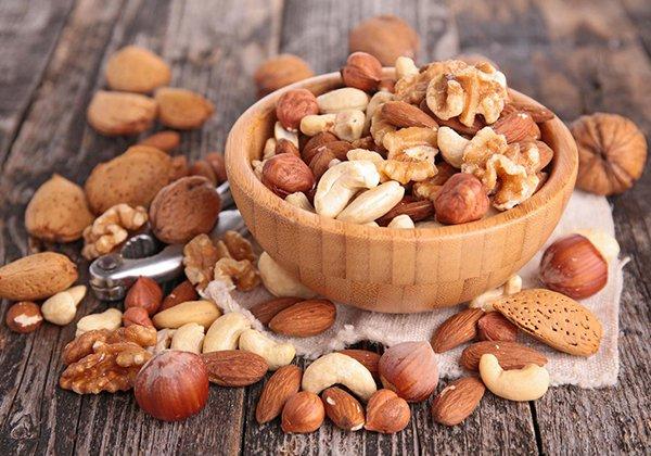 Các loại hạt giúp giảm mỡ bụng