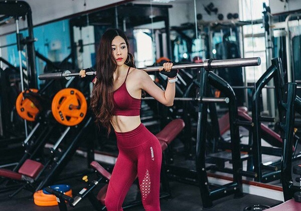Tập gym giúp đốt cháy mỡ thừa, giảm béo mặt hiệu quả