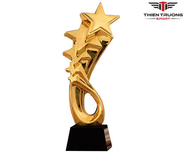 Cúp lưu niệm CPS 06 thiết kế 5 ngôi sao cực đẹp và giá rẻ nhất