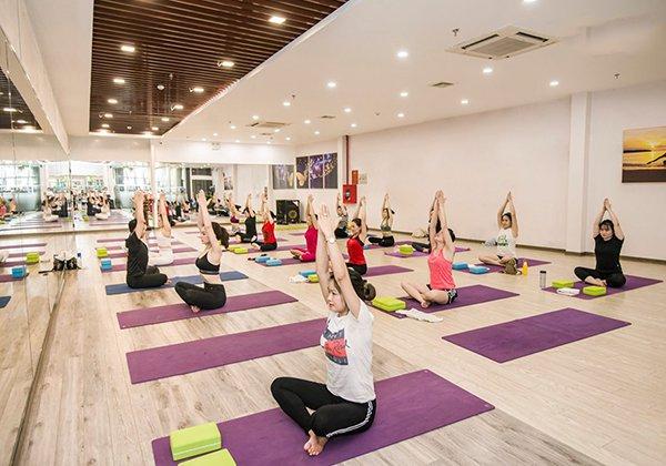Các phòng tập Yoga Long Biên chất lượng, đông hội viên Nhất