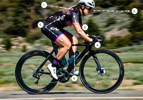 Điều chỉnh yên xe đạp tập
