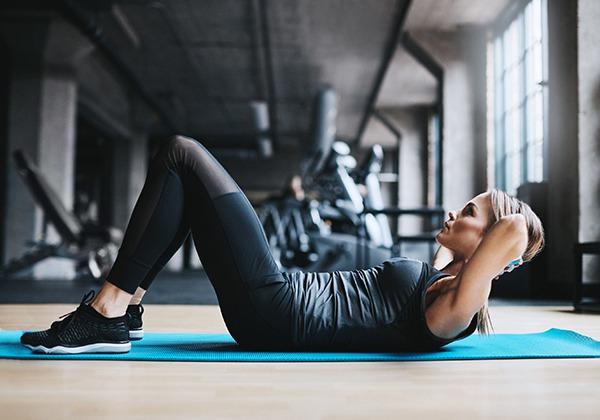 Gập bụng giúp tăng cơ