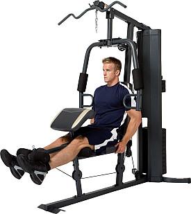 Tập chân với ghế tập tạ Home Gym