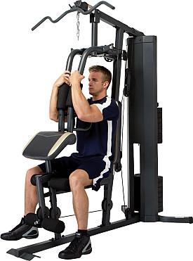 Tập ngực với ghế tập tạ Home Gym