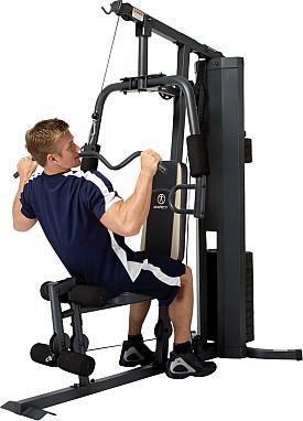 Tập kéo xô với ghế tập tạ Home Gym