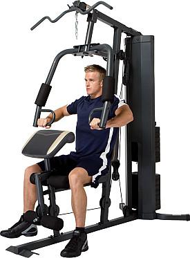 Tập ép ngực với ghế tập tạ Home Gym