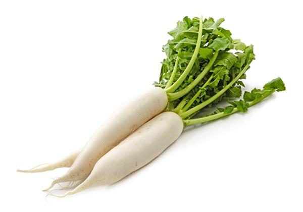 Giảm size bắp chân từ củ cải trắng